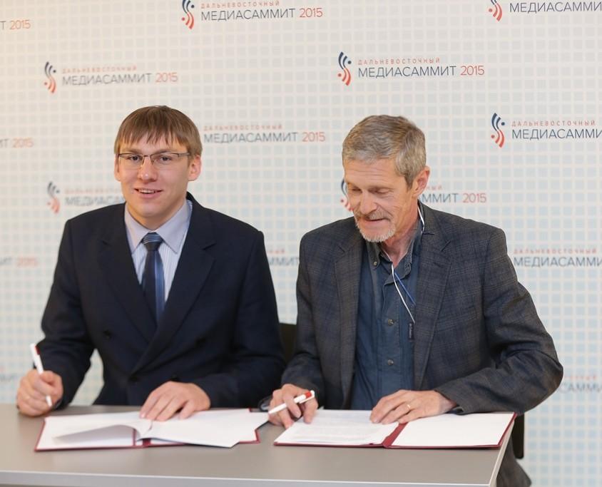 «Союз журналистов России» и «ОПОРА РОССИИ» подписали соглашение о сотрудничестве.