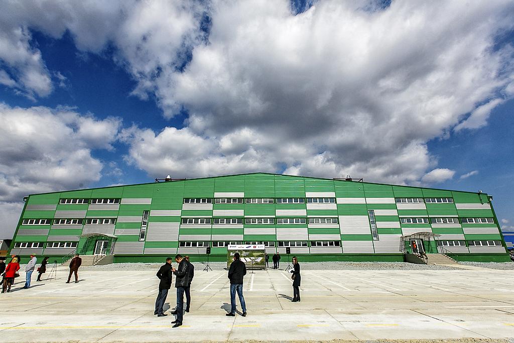 Торжественное открытие производственно-логистического комплекса «Янковский»