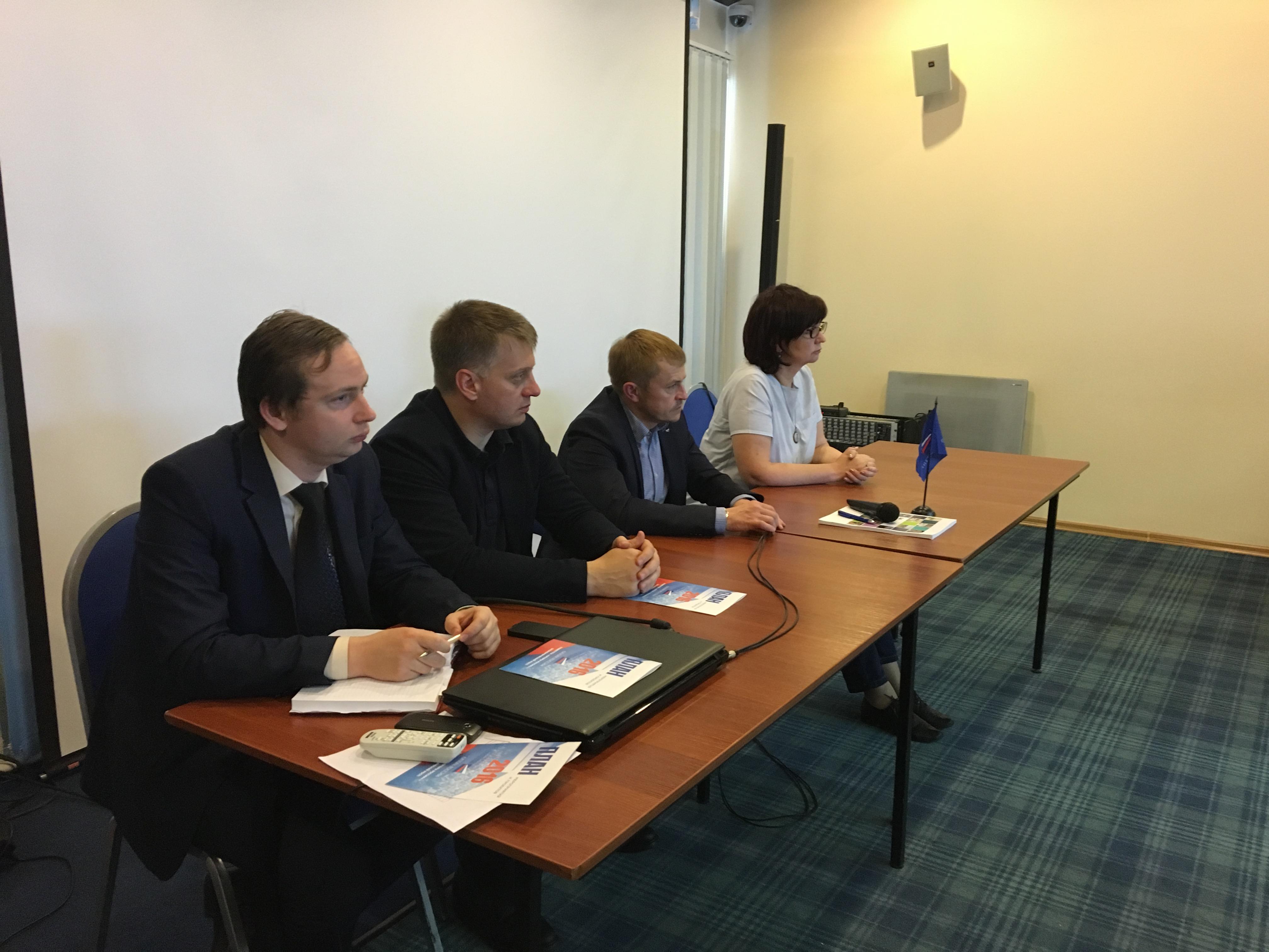 Президент «ОПОРЫ РОССИИ» Александр Калинин встретился с членами регионального отделения