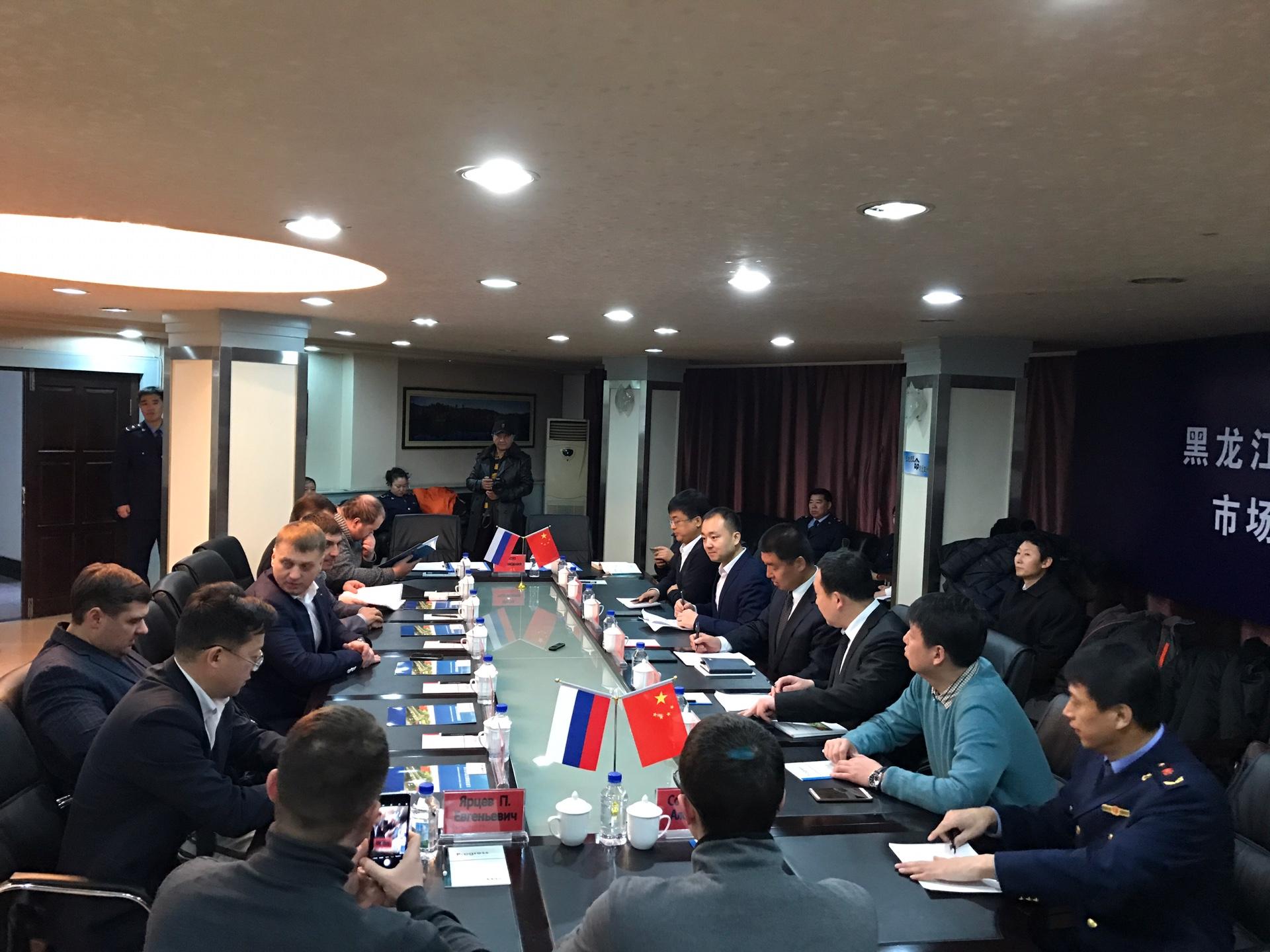 Приморская «ОПОРА РОССИИ» подписала соглашение о сотрудничестве с Управлением по надзору за рынком г. Суйфэньхэ КНР