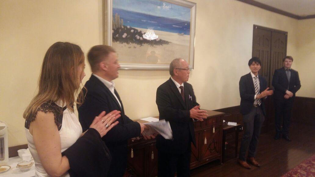 Представители деловых кругов Японии встретились с российскими бизнесменами во Владивостоке