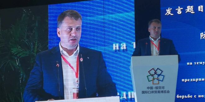 Делегация Приморского краевого отделения ОПОРЫ РОССИИ приняла участие в Пятой международной выставке приграничной торговли и Первом форуме о создании системы добросовестности Китая и России.
