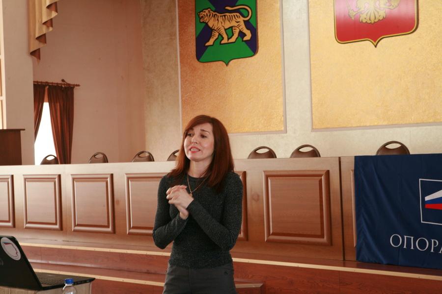 В Уссурийске начала работу «Школа предпринимателя», организованная местным отделением «ОПОРЫ РОССИИ»