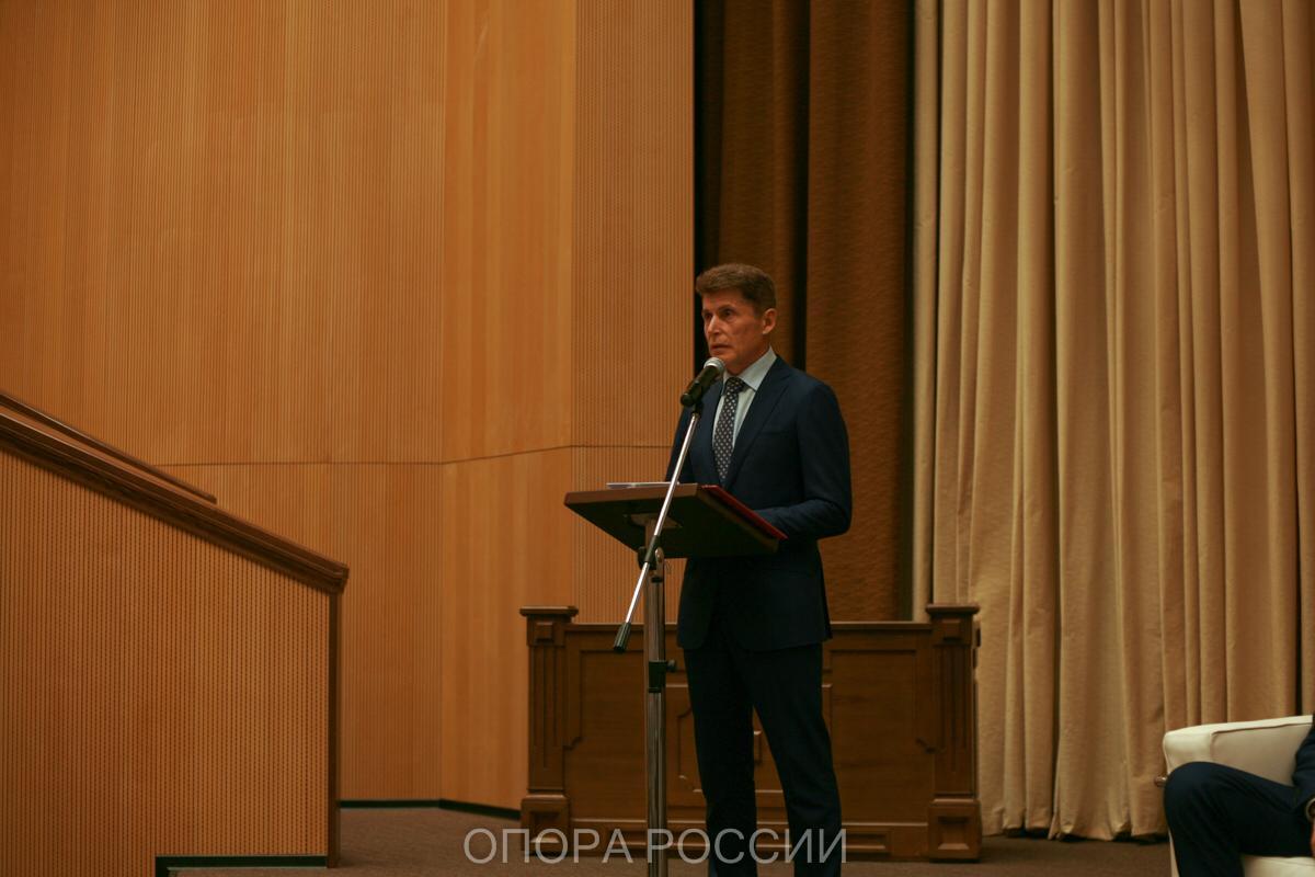 Приморские предприниматели встретились с врио губернатора края Олегом Кожемяко