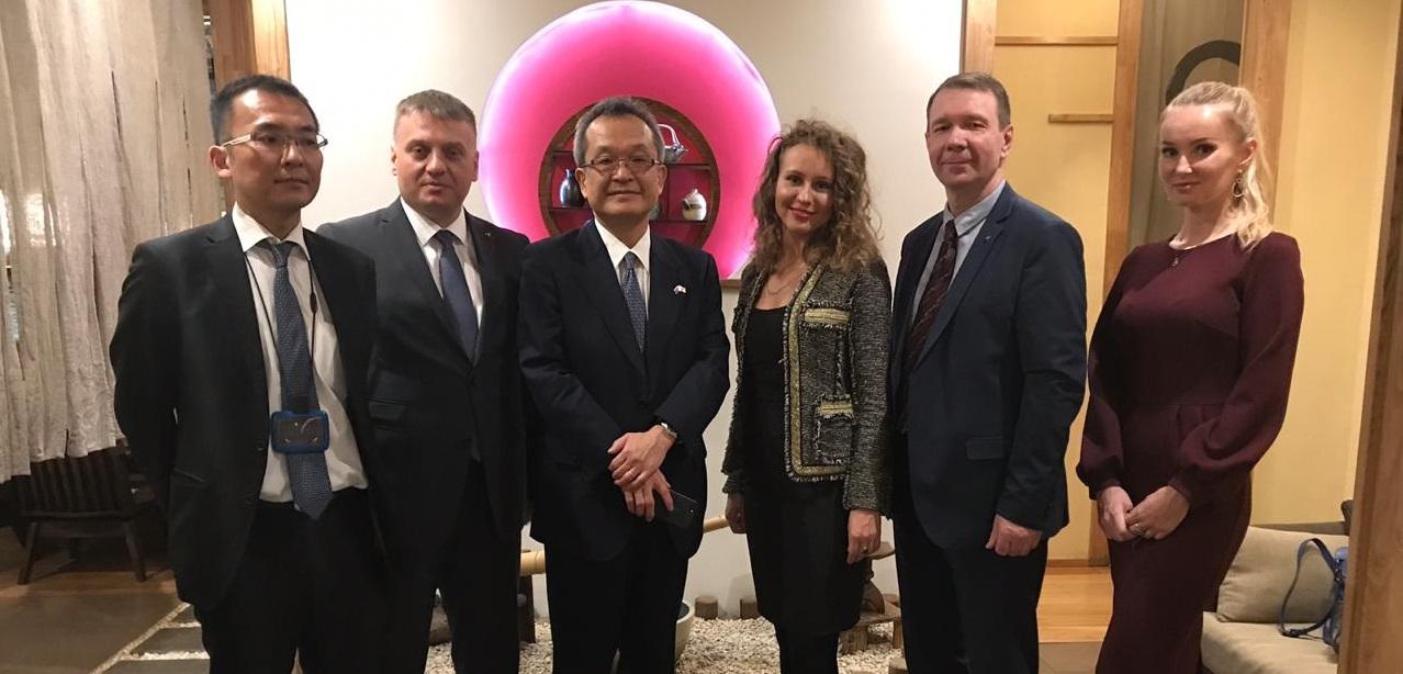 Состоялась встреча с генеральным консулом  Японии во Владивостоке господином Коитиро Накамура