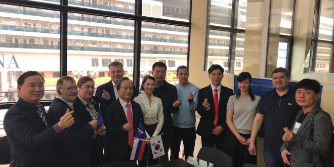 Виталий Гуменюк провел встречу с делегацией Ассоциации корейско-азиатского экономического сотрудничества