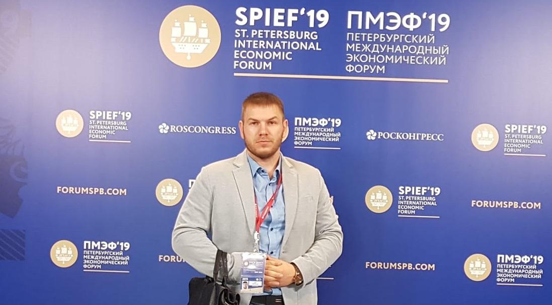 Председатель Уссурийского местного отделения «ОПОРЫ РОССИИ» Игорь Ветрюк принял участие в 5-ом Петербургском  Международном Экономическом Форуме 2019 (ПМЭФ'19) .