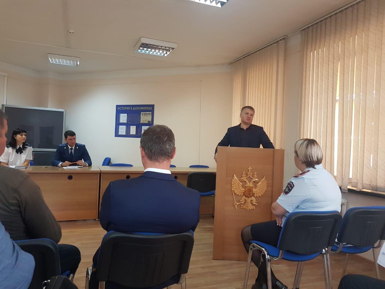 20 июня 2019 года состоялось заседание Совета по защите малого и среднего бизнеса при Уссурийской городской прокуратуре.