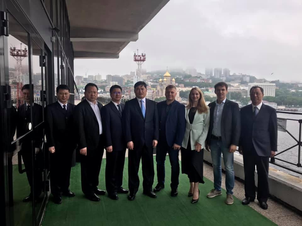 25-29 июня 2019 года Приморское краевое отделение «ОПОРЫ РОССИИ»  приняло с официальным визитом делегацию из Народного правительства г. Суйфеньхэ КНР.