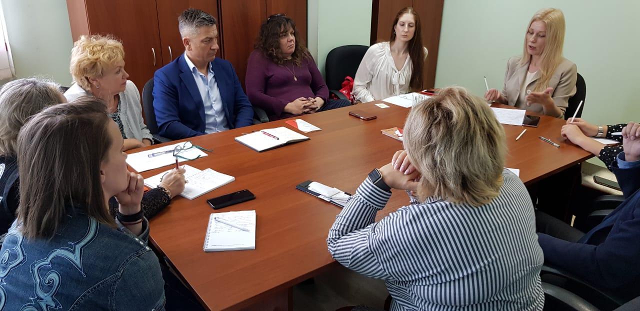 В центре инноваций в социальной сфере Приморского края прошло заседание рабочей группы по вопросам развития социального предпринимательства.