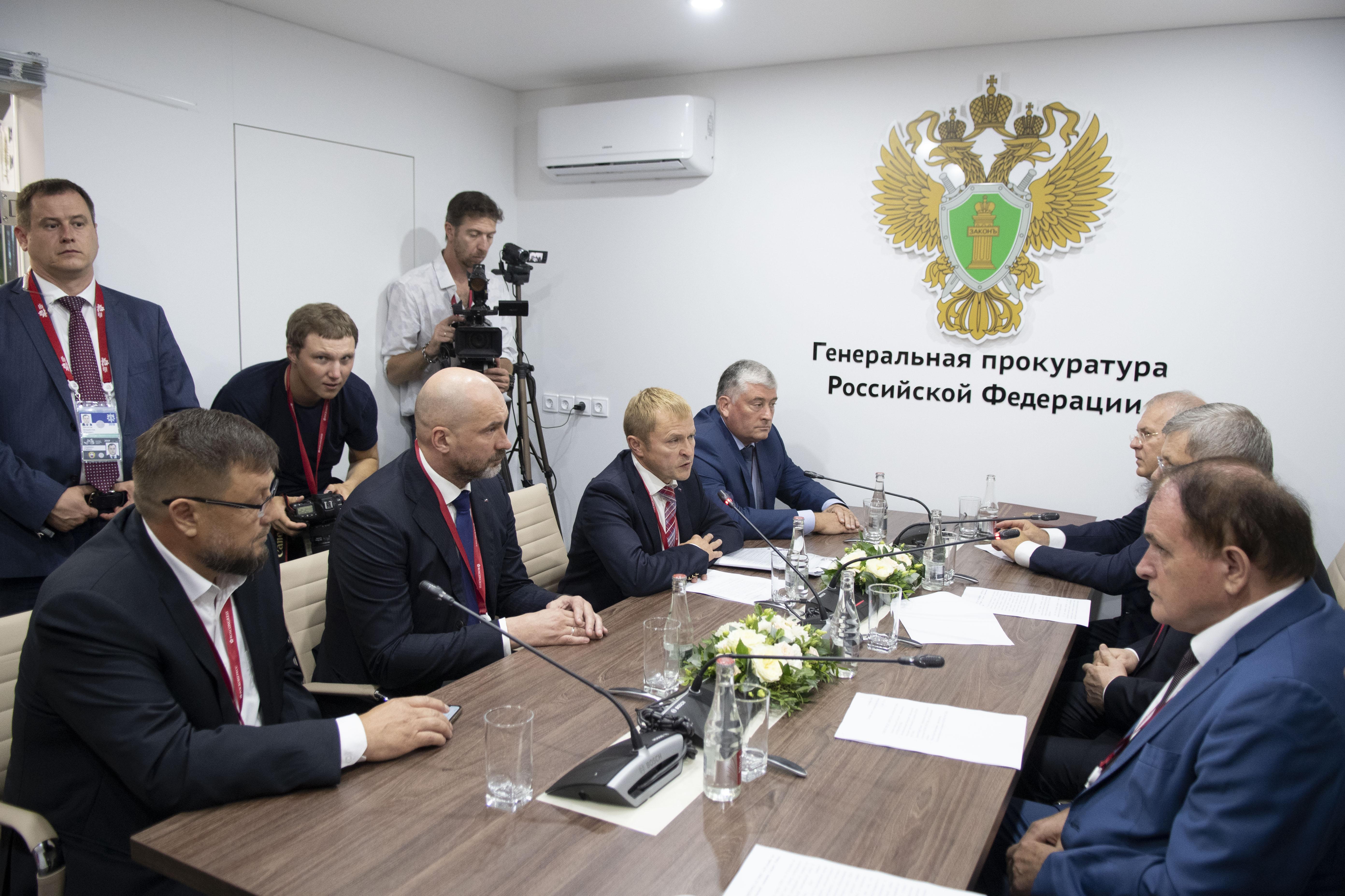 Итоги встречи представителей «ОПОРЫ РОССИИ» с Генеральным прокурором РФ Юрием Чайкой