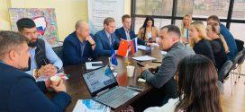 4 октября в офисе Приморского краевого отделения «ОПОРЫ РОССИИ» прошла  встреча с китайским корреспондентом из ГТРК «Владивосток»