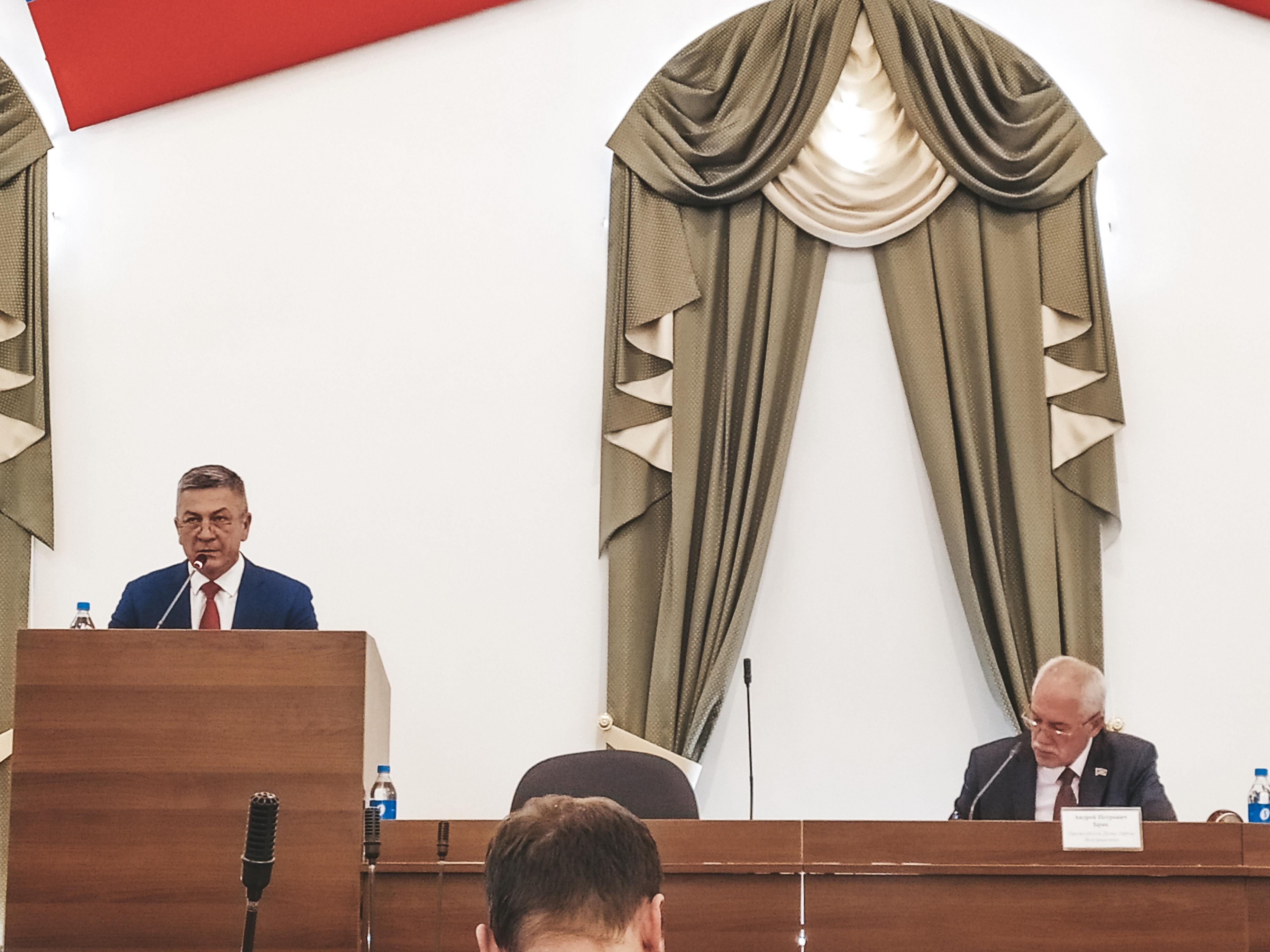15 ноября 2019 года в зале заседаний Думы г. Владивостока прошло заседание круглого стола «Развитие муниципально-частного партнерства в г. Владивостоке».