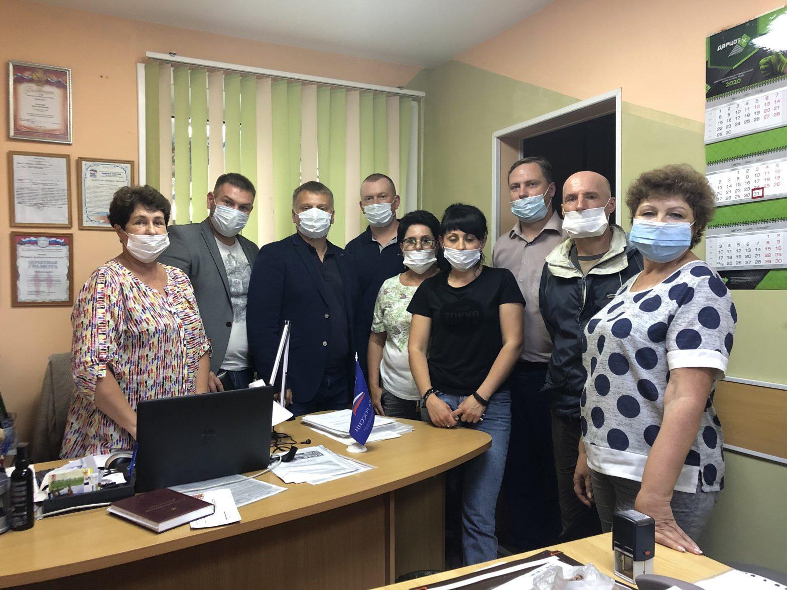 6 августа состоялось отчетно-выборное собрание Хасанского местного отделения Приморского краевого отделения «ОПОРЫ РОССИИ».