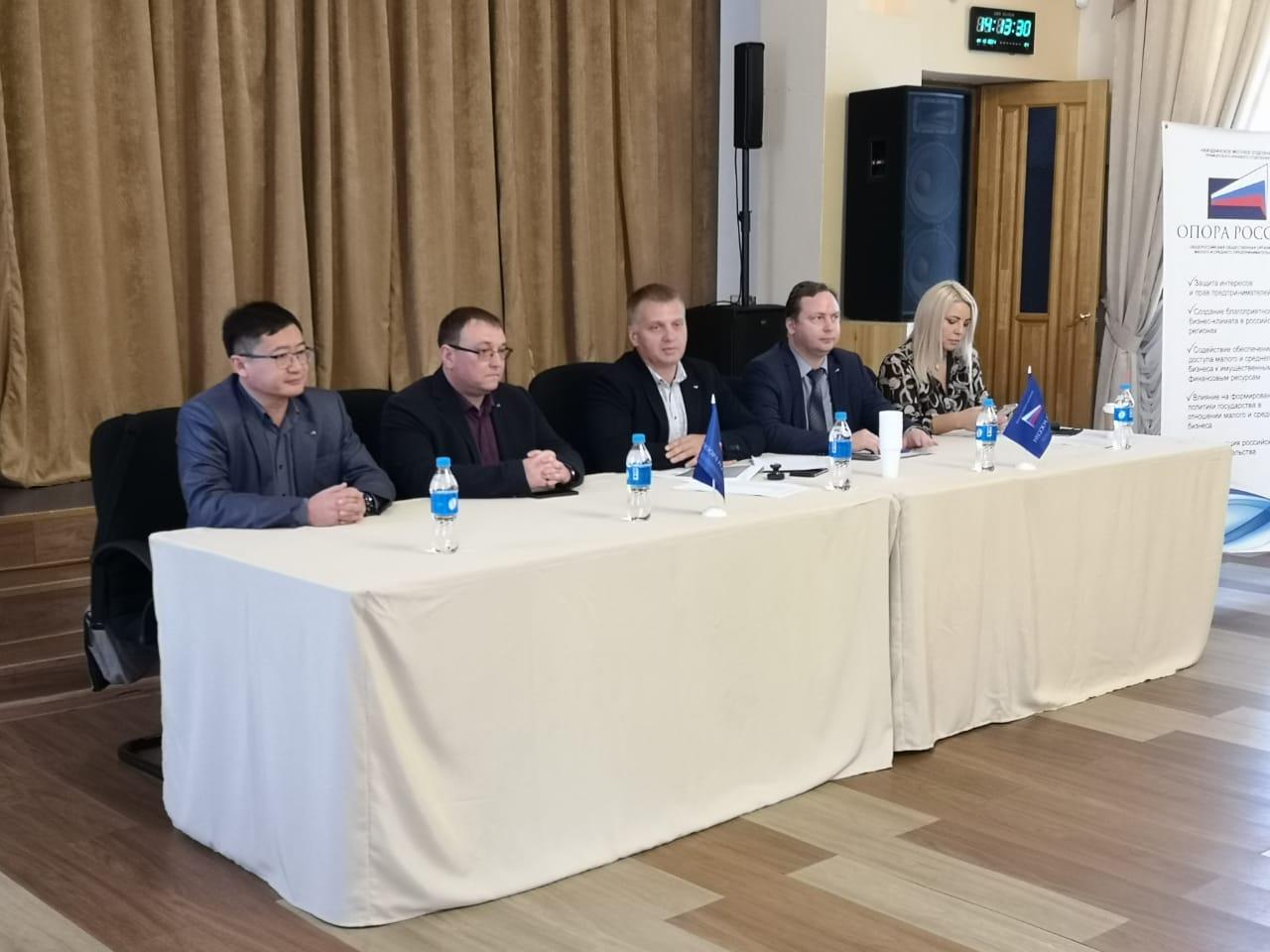 Новым председателем Находкинского местного отделения «ОПОРЫ РОССИИ» стал Сергей Пак
